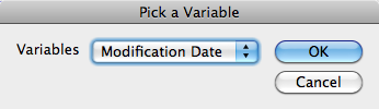 Insert-Variable